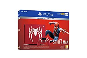 PlayStation 4 (PS4) - Consola de 1 TB - Edición Especial + Marvel's Spider-Man