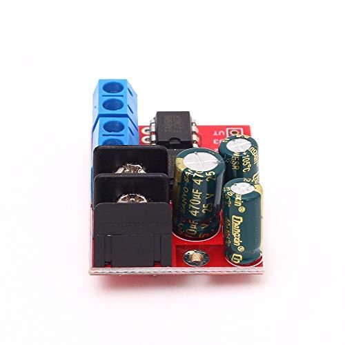 5A Motor Drive Module, Controller Board Module DC Motor Driver Motor Speed Controller Module Dual H Bridge DC Module 3V-14V L298N 5AD