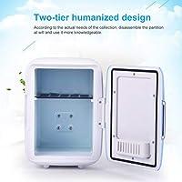 Mini refrigerador casero de 4L Refrigeradores de doble uso ...