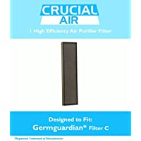 Air Purifier HEPA Filter C Fits AC5000 Series, Compare to Part # FLT5000 & FLT5111, Designed & Engineered by Crucial Air