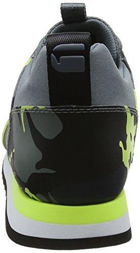 9277 Asfalt Aop Giallo Yellow RAW Deline STAR AOP Neon G Uomo Sneaker p1gP7qqw