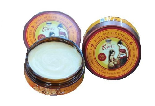 Herbal Skin Brown Rice Extract Rich Butter Radiance Skin 150 G Thai 1 Pack