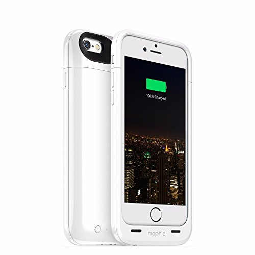 mophie Juice Pack Plus - Protective Mobile Battery Pack Case for iPhone 6/6s - - Pack Juice Morphie 6 Iphone