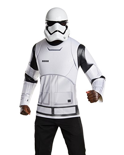 [Star Wars: The Force Awakens Stormtrooper Costume Kit, Standard Size] (Storm Halloween Costume Ideas)