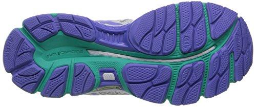 Asics Gel-Nimbus 16 Deportivas Zapatos Nuevo, White-Periwinkle-Mint, US 6 | UK 4| EU 37
