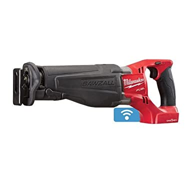 Milwaukee 2721-20 M18 FUEL SAWZALL Reciprocating Saw with ONE-KEY Technology (Bare Tool)
