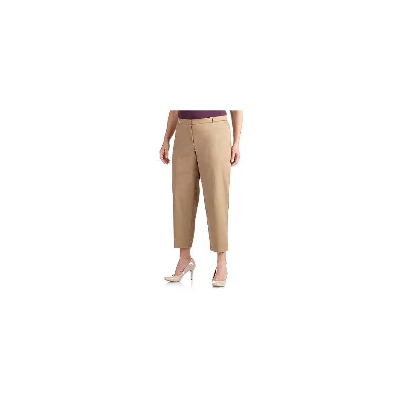 George Women's Slimming Ankle-Length Career Pants, 24W, Urbane Khaki 8