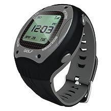 ScoreBand Golf GPS Watch and Scorecard, Black and Grey