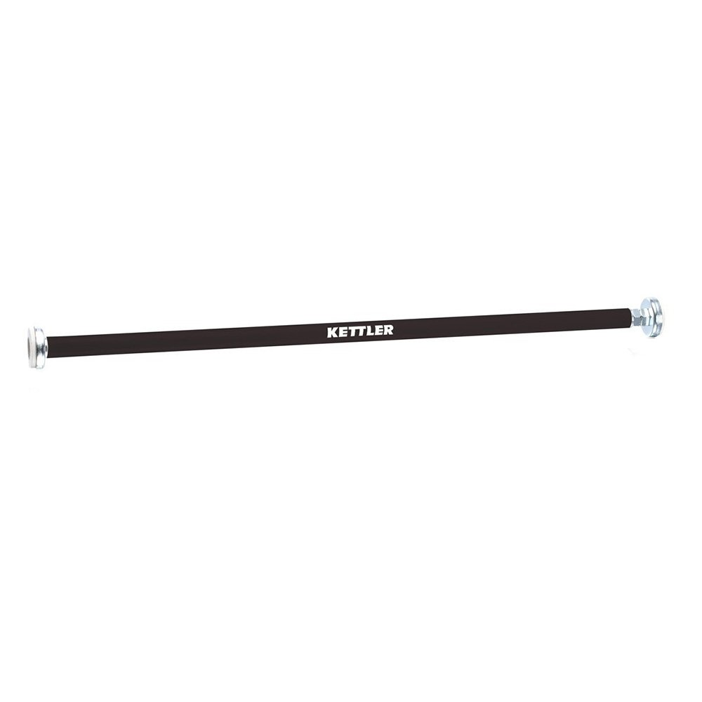 Kettler Türreck - Barra de dominadas (Ajustable, to be reviewed Carefully/Montaje/Montura fácil), Color Negro