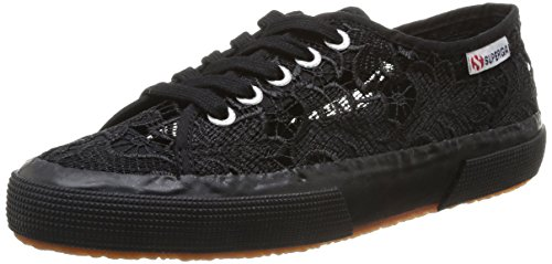 Mixte Sneaker full Macramew Noir 996 Black Adulte Superga 2750 Chaussons wqXPtWx1Xa