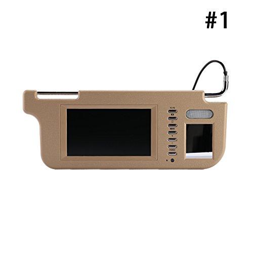 monitor for sun visor - 1