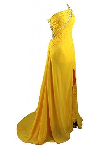 charmingbridal - Robe - Trapèze - Femme -  jaune - 40