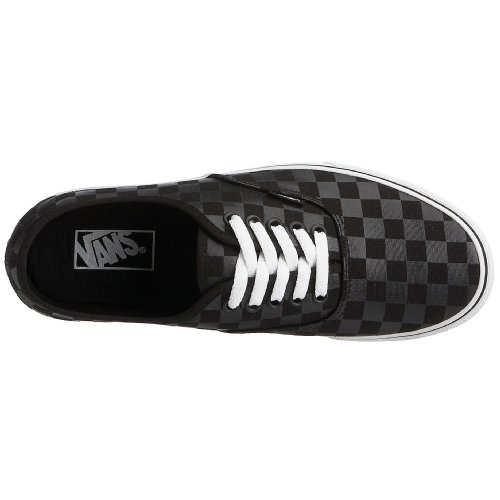 Vans Mens Vans Authentic Skate Shoes 4 (nero / Nero (scacchiera))