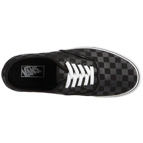 Vans Mens Vans Autentiska Skate Skor 4 (svart / Svart (schackbräde))
