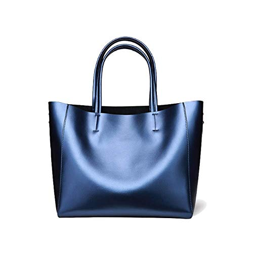 Capacidad Púrpura Bolso Tamaño Europa Bolso Moda Mujer Compras Gran Para Un Azul color Y Tendencia América Hombro Tamaño PrUP6qZ