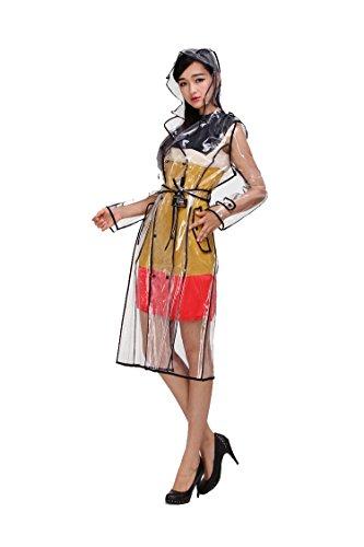 Mengsha's Transparent Fashionable EVA Vinyl Women's Waterpro