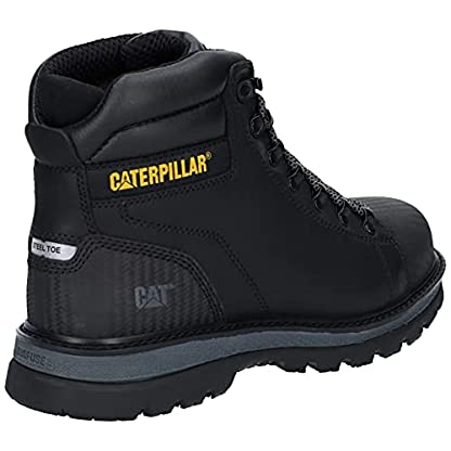 Caterpillar CAT Foxfield Mens Lace Up Safety Boot in Black - Size 9 UK - Black 2