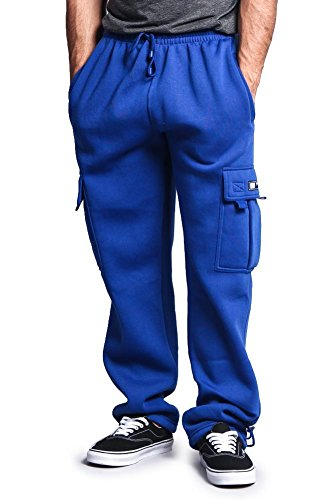 Velour Cargo Pocket Pants - 4