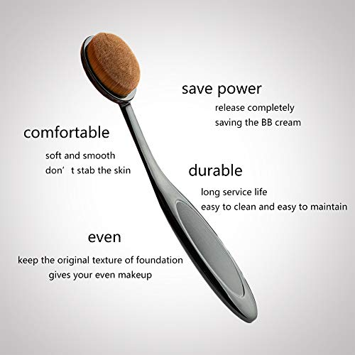 Oval makeup brush brand