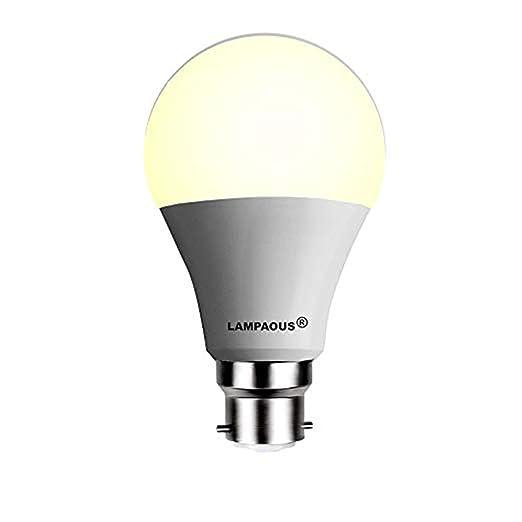 LAMPAOUS Bombilla LED B22 de 15w equivalente a las encandescente de 100w, Luz LED Blanca