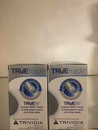 TRUEtrack Blood Glucose Test Strips(100 - Strips Diabetic Track Test True