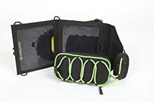 Goal Zero 19017 Black/Green Rock Out Portable Speaker with Nomad 3.5 Solar Panel Kit
