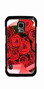 Rose Red Pink Flower Hard Case for Samsung Galaxy S5 Active