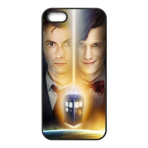 Doctor Who 001 coque iPhone 4 4S cellulaire cas coque de téléphone cas téléphone cellulaire noir couvercle EEEXLKNBC24636