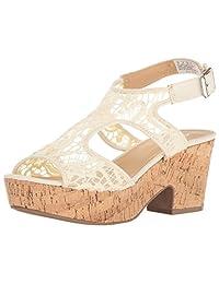 Skechers Cali Women's Crochet Wedge Platform Dress Sandal