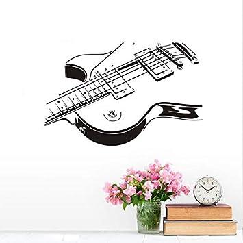 Venta Al Por Mayor Guitarra Eléctrica Etiqueta De La Pared 3d