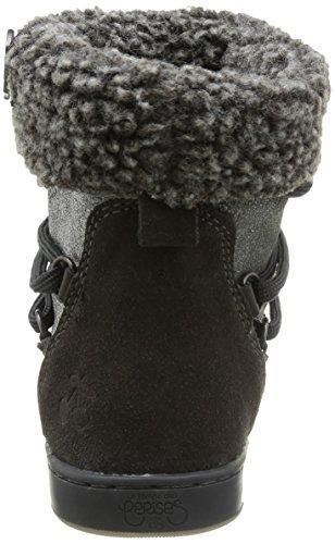 Gris Boots Mountain Temps des Ltc Cerises Glitter Grey femme Le HwvO0