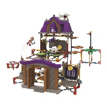Ghost House Building Set