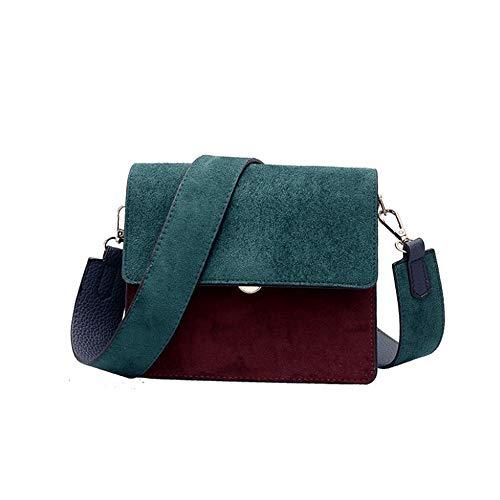 Donne Crossbody Designer Bag Elegante Green Le Hemotrade A Spalla A Red wine Borse Tracolla Pu Per color 5Pfx4