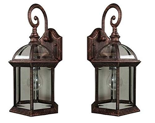 Copper Outdoor Wall Sconce Light in US - 8