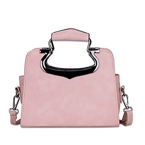 Seasons Bag Blushing Bags amp; Tanling Black All Office Pink Shoulder Women's Gray Casual Sequin For Blushing Pink PU Career wqCC7xF6I