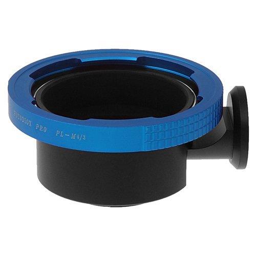 Fotodiox Pro Lens Mount Adapter - Arri PL (Positive Lock) Mount Lens Micro Four Thirds (MFT, M4/3) Mount Mirrorless Camera Body