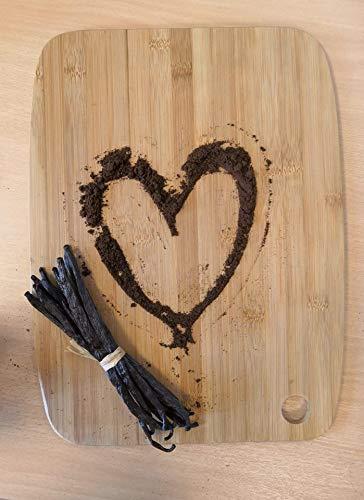 Natural Vanilla Bean Powder, 8 oz - Raw Ground Vanilla Beans, Unsweeted, Non GMO, Gluten-Free - Freshly Ground Before Packaging by Vanilla Bean Kings (Image #3)