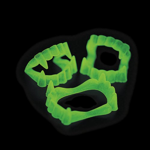 Glow In The Dark Vampire Fangs 6 dz