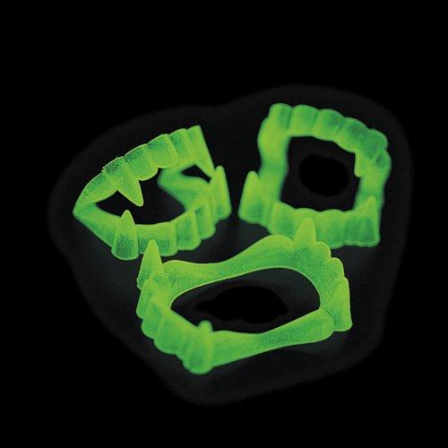 Glow In The Dark Vampire Fangs 6 dz