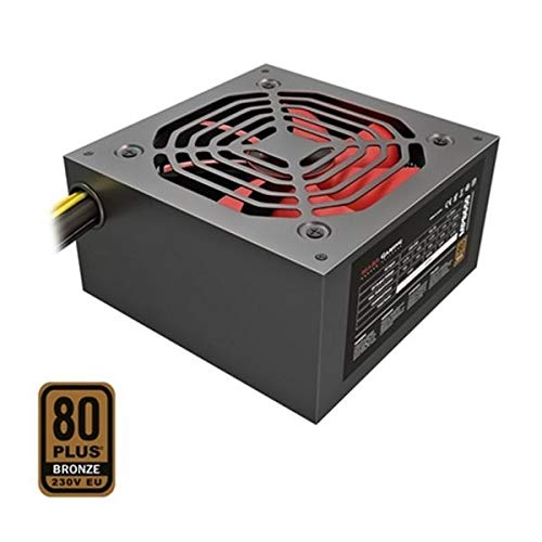 Mars Gaming mpb650  –   Alimentazione per PC (650  W, 80  Plus Bronze, PFC attivo, Ultrasilent) colore Nero 80 Plus Bronze