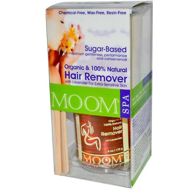 Moom Organic Hair Removal Kit With Lavender SPA Formula -- 1 Kit