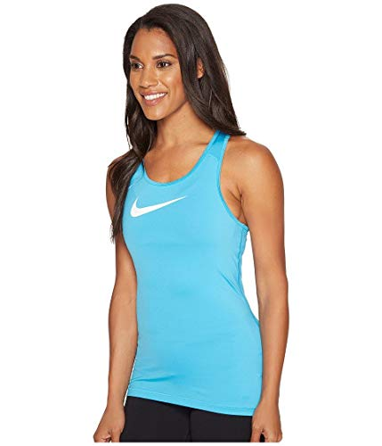 Fury White Light Blu Nike Canotta Pro Donna Blue wq6I40