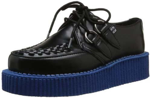 Blue Chaussures Sole With Black basses homme Lo Creepers TUK Noir Mondo UBWnpUqga