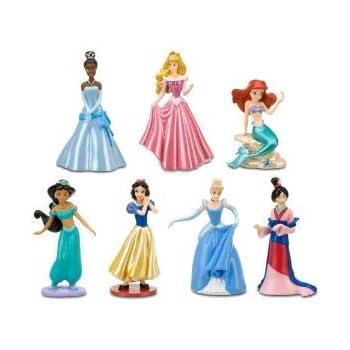 Amazon.com: Disney Princess Figurine Set: Toys & Games