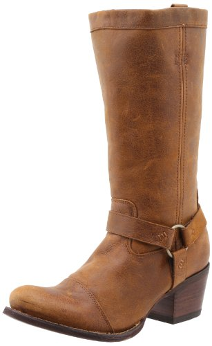 Durango Women's Philly Harness Western Boot,Fawn,6.5 B US ()