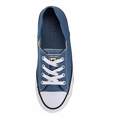 CONVERSE - CTAS CORAL OX 555896C - lemon haze azul vaquero