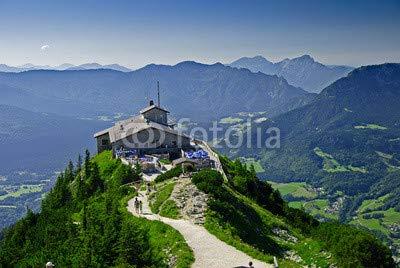 Leinwand-Bild 110 x 70 cm  Kehlsteinhaus auf dem Obersalzberg in Berchtesgaden, Bild auf Leinwand