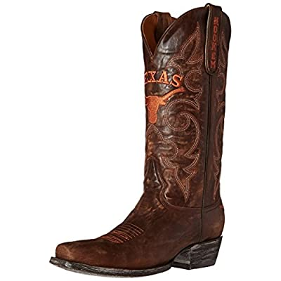 NCAA Texas Longhorns Men's Board Room Style Boots: Sports & Outdoors