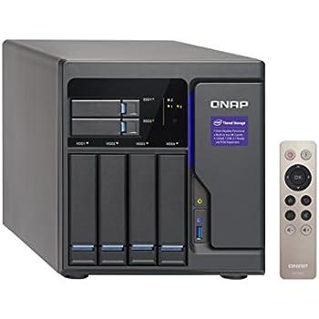 QNAP 6 Bay NAS/iSCSI IP-SAN, Intel Skylake Core i3-6100 3.7 GHz Dual core (TVS-682-i3-8G-US)