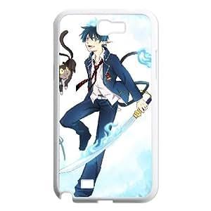 Blue Exorcist Samsung Galaxy N2 7100 Cell Phone Case White B97664042